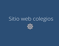 Sitio web para Colegios