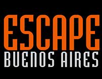 ESCAPE- Placa animada