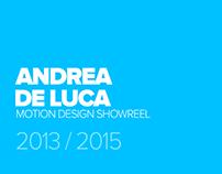 Motion Design Showreel 2015