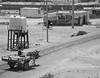 Highest point in the Zaatari refugee camp.