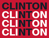 Free Typefamily / Clinton