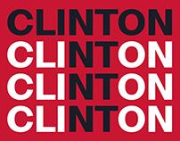 Free Typefamily / Clinton