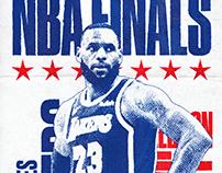 NBA FINALS POSTERS