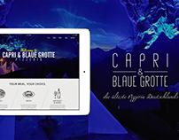 Capri & Blaue Grotte - Restaurant Branding Design