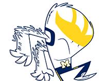 University of Michigan branded critter