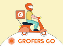 GROFERS GO - Delivery partners app