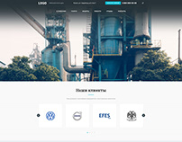 Дизайн сайта. «Intal Pro»