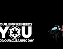 Empire Cleaning day