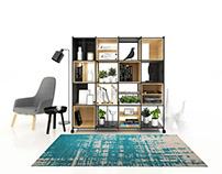Mobile bookcase design