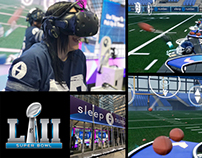 Sleep Number - Super Bowl LII VR Quarterback Challenge
