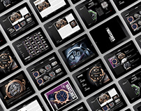 Mobile App Design Watches