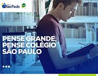 Site Colégio São Paulo