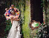 The Lady of melancholic garden