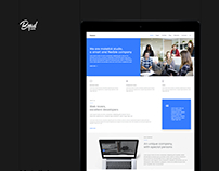 Matelick - Soft Material Corporate HTML Template