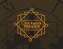 Interfaces do jogo Clockwork Timespiral.