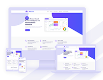 UI/UX Design for SaaS Startup Landing Page & Dashboard