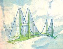 Landmark illustrations