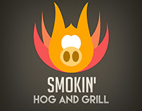 Smokin' Hog and Grill Logo