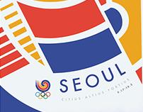 Seoul Olympics Poster