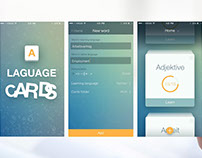 Flash Cards: App for learning foreign languages