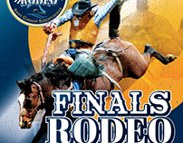 2018 CCA Finals Rodeo Posters and Ads