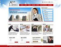 Site Ativa administradora de Condomínios