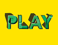 PLAY Typographic golf course