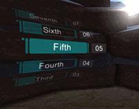3D Holo-Watch UI