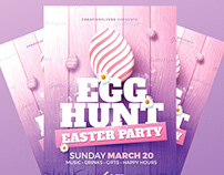 Easter | Flyer Psd Template