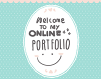 Portfolio; Web Design for my Portfolio