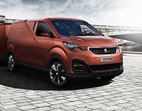 Peugeot FoodTruck Concept - CGI