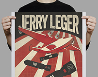 Jerry Leger Gig Poster