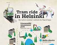 Latva Bar - Tram ride in Helsinki DRINK MENU