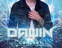 Poster Dawin Concert