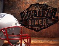 IRON-TOWN Diner @ Saugus,MA-- fun Fb Cover Super Bowl