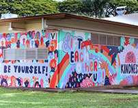 POW!WOW! 2020 Anti-Bullying Mural