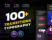Transitions & Typogra | After Effects and Premiere Pro
