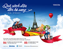 Vincom Holiday promotion
