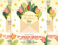 Mother's Day 2019 Flyer - Seasonal A5 Template