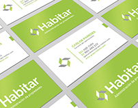 Habitar - Business card