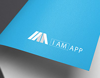 Logo, business card and website for I Am App