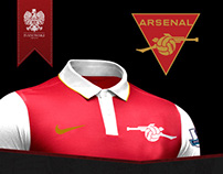 Arsenal FC - Rebrand Concept and Kit Redesign