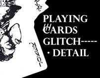 Playing cards glitch.