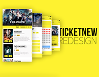 TicketNew Redesign