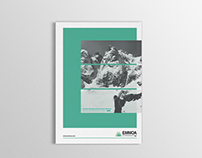 Brochure for EMMOA (The Basque Mountaineering Museum)