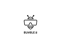 Bumble B Logo Concepts Theme : AR + VR + Bee