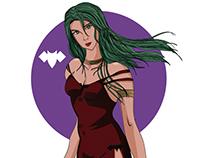 Lady Vampire Camula