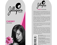Jilliques Shampoo Package Design