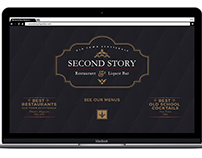Second Story Restaurant & Liquor Bar Website