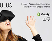 Oculus – Responsive Single Product Shopify Theme
